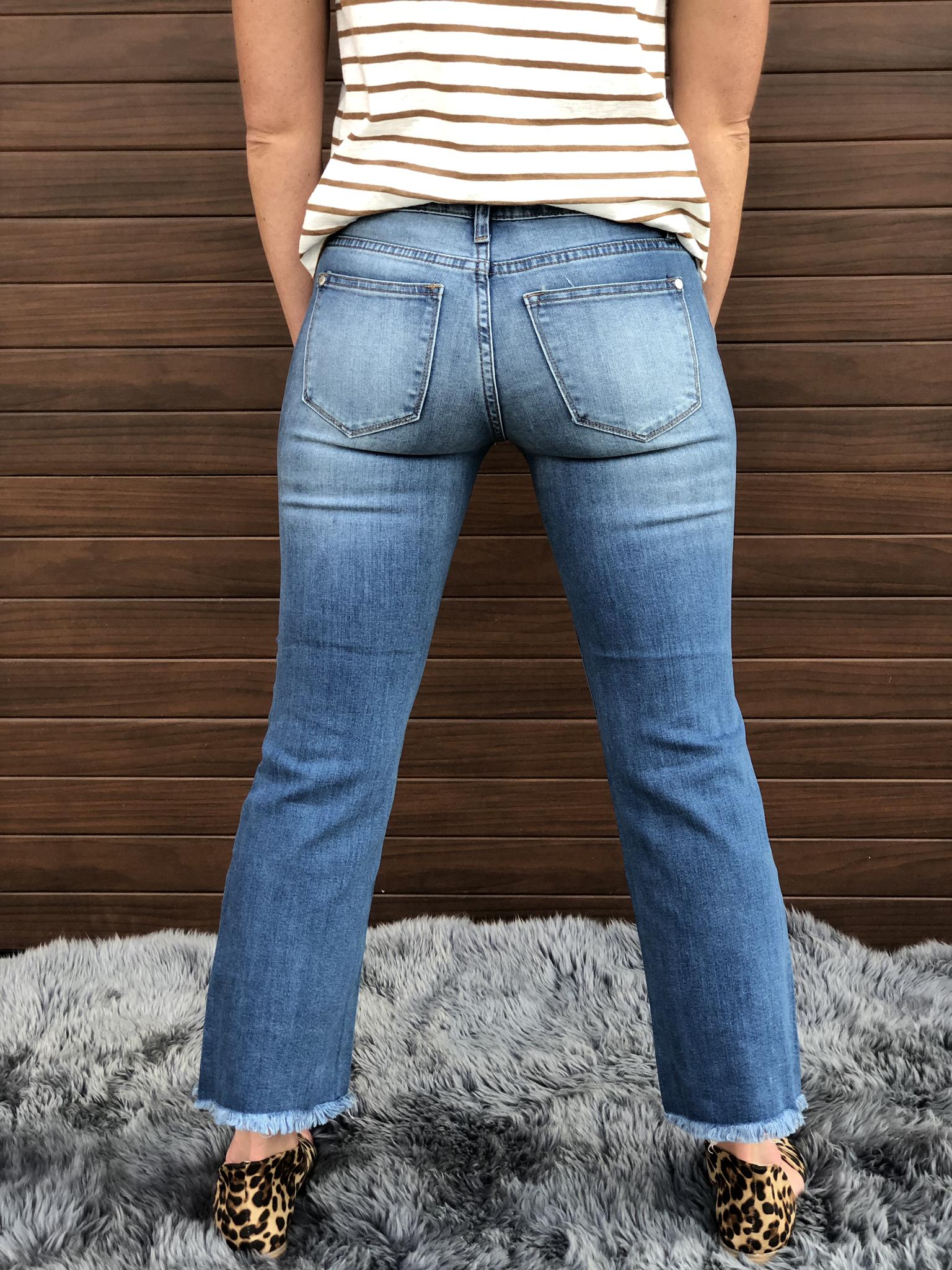 Crop Jeans light