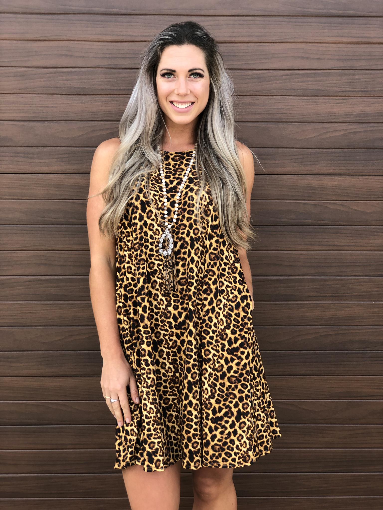 Cheetah Dress 83340