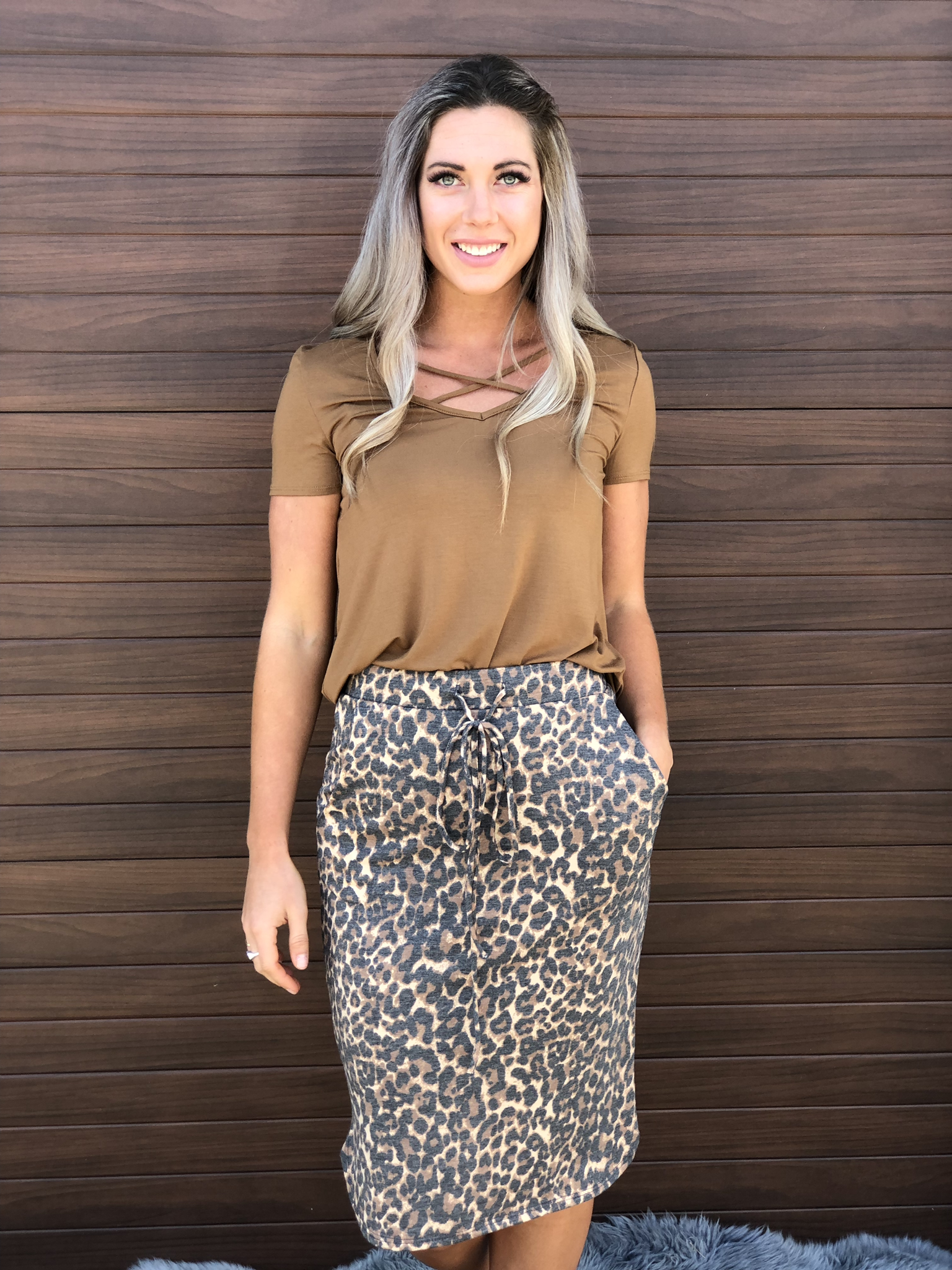 Cheetah Skirt 83376