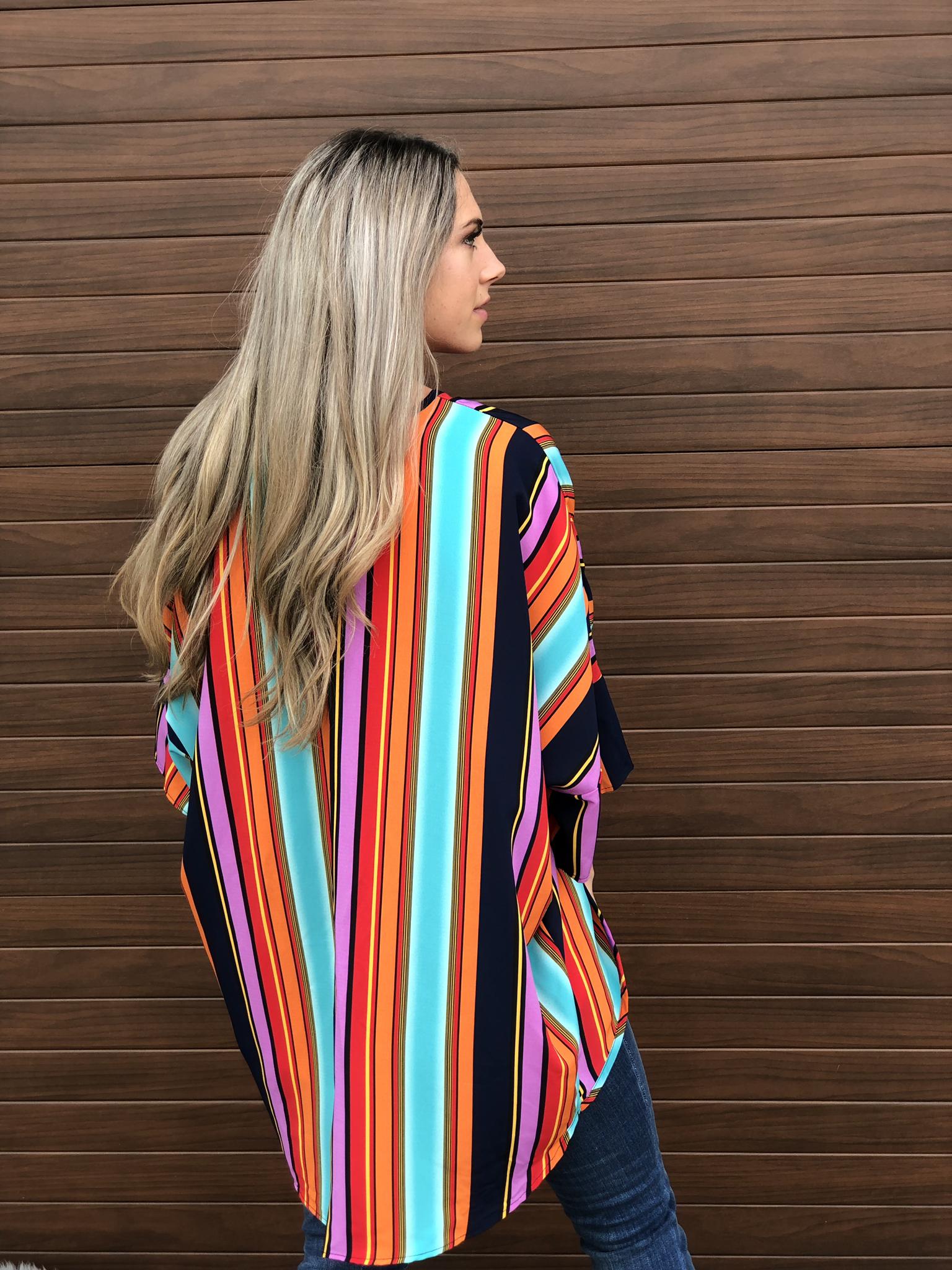 Flashback Fall Kimono