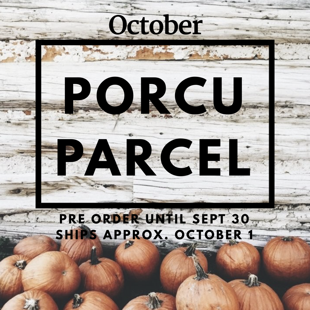 The Porcuparcel Style Box - October 99999983585