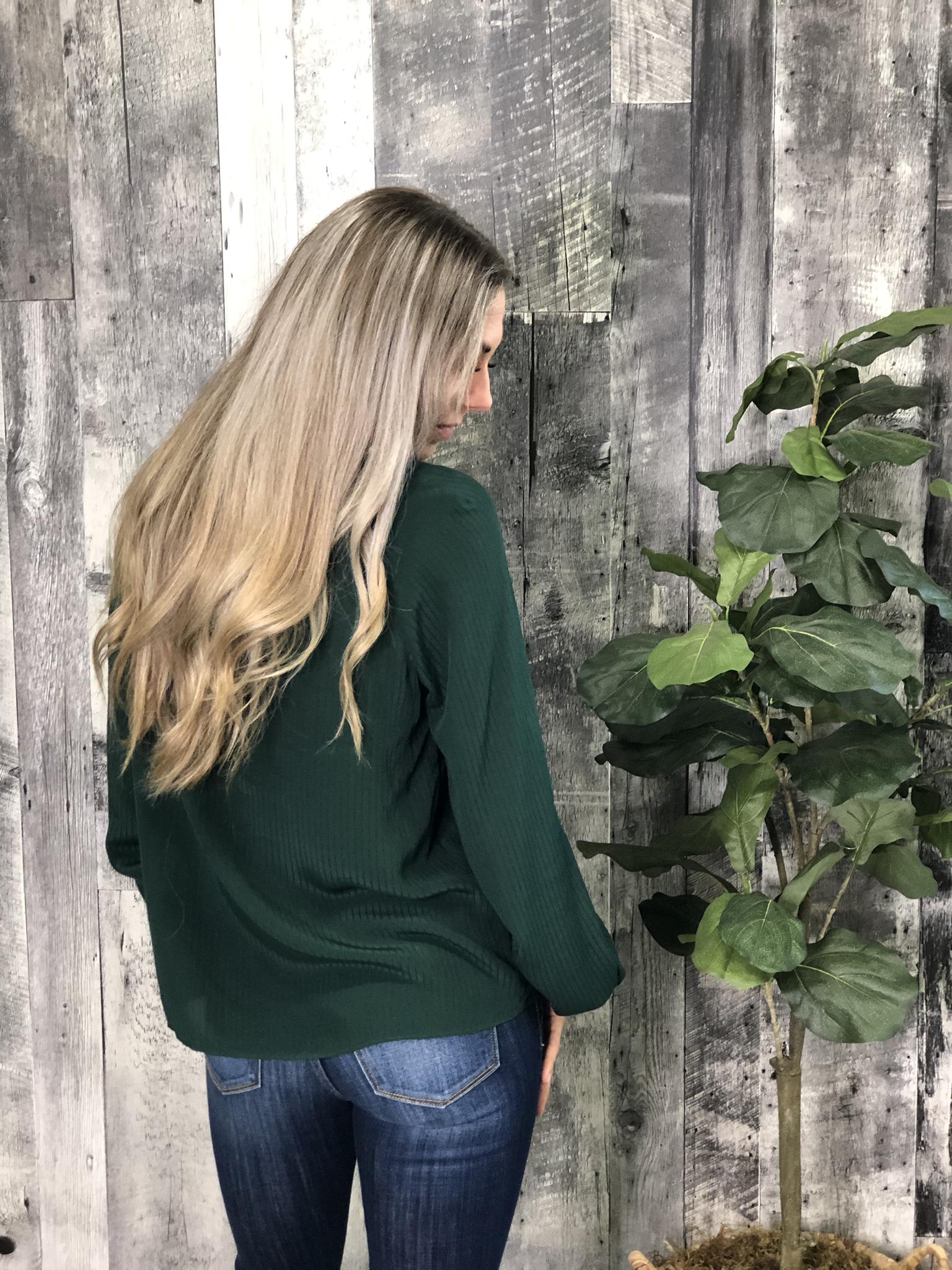 Evergreen Blouse