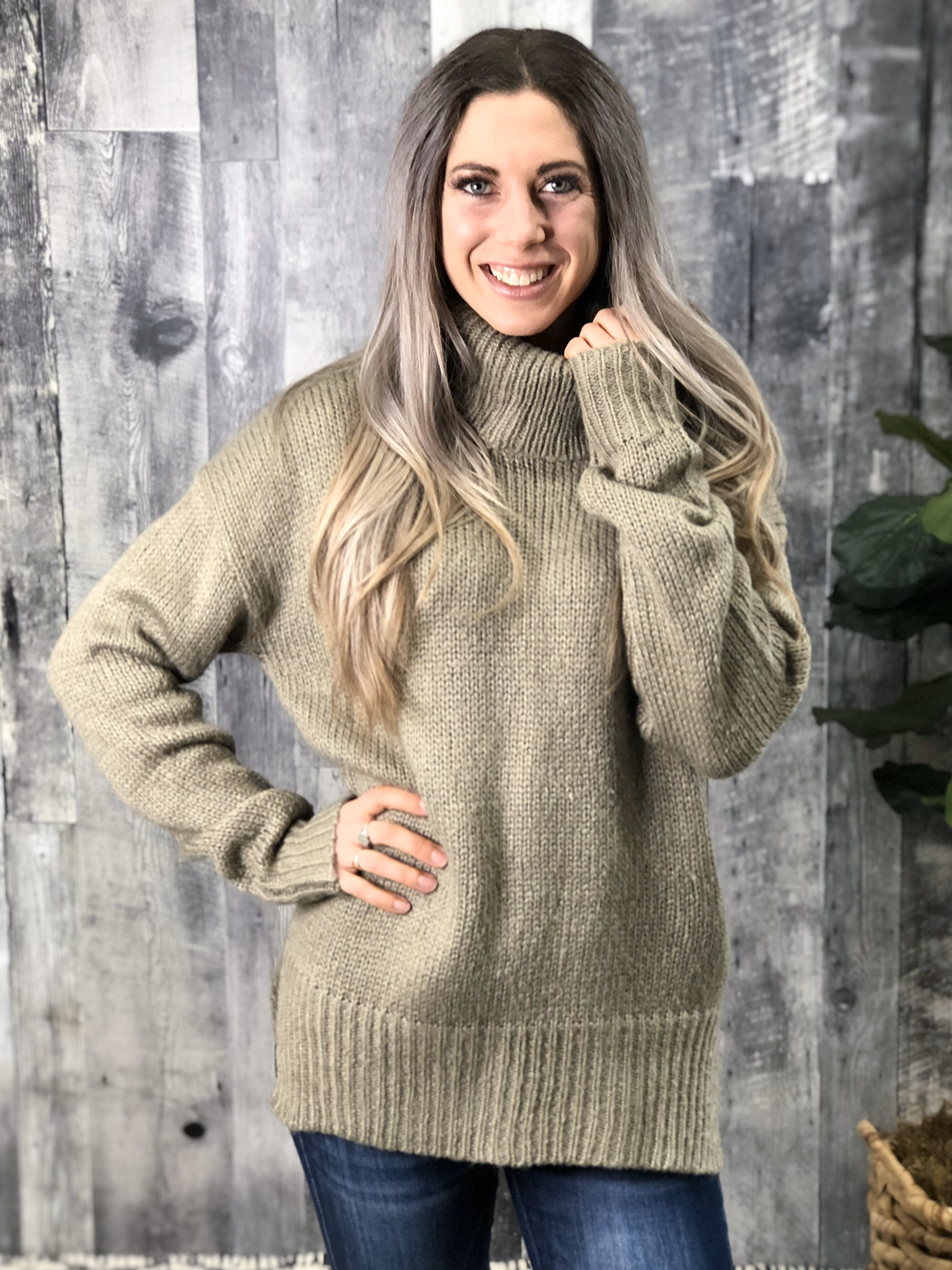Cowl Sweater 19994