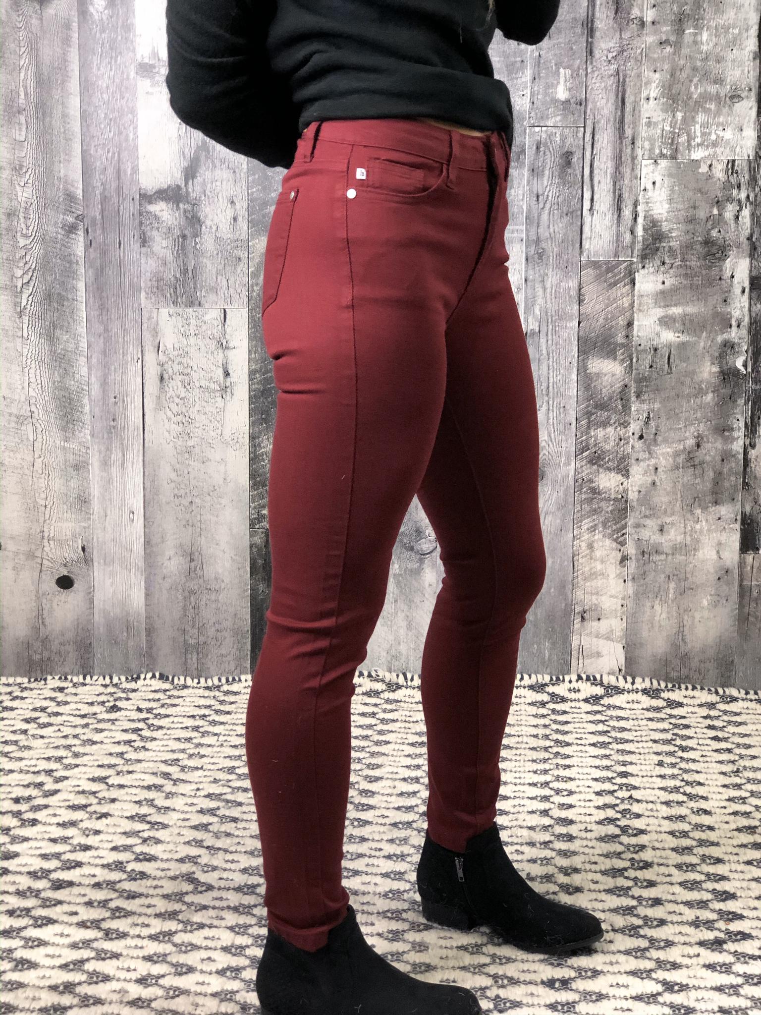 Red Judy Blue Skinny Jean