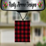 Buffalo Plaid Air Fresheners - 2 options