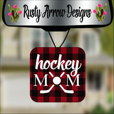 Hockey Mom Air Fresheners - 3 Styles