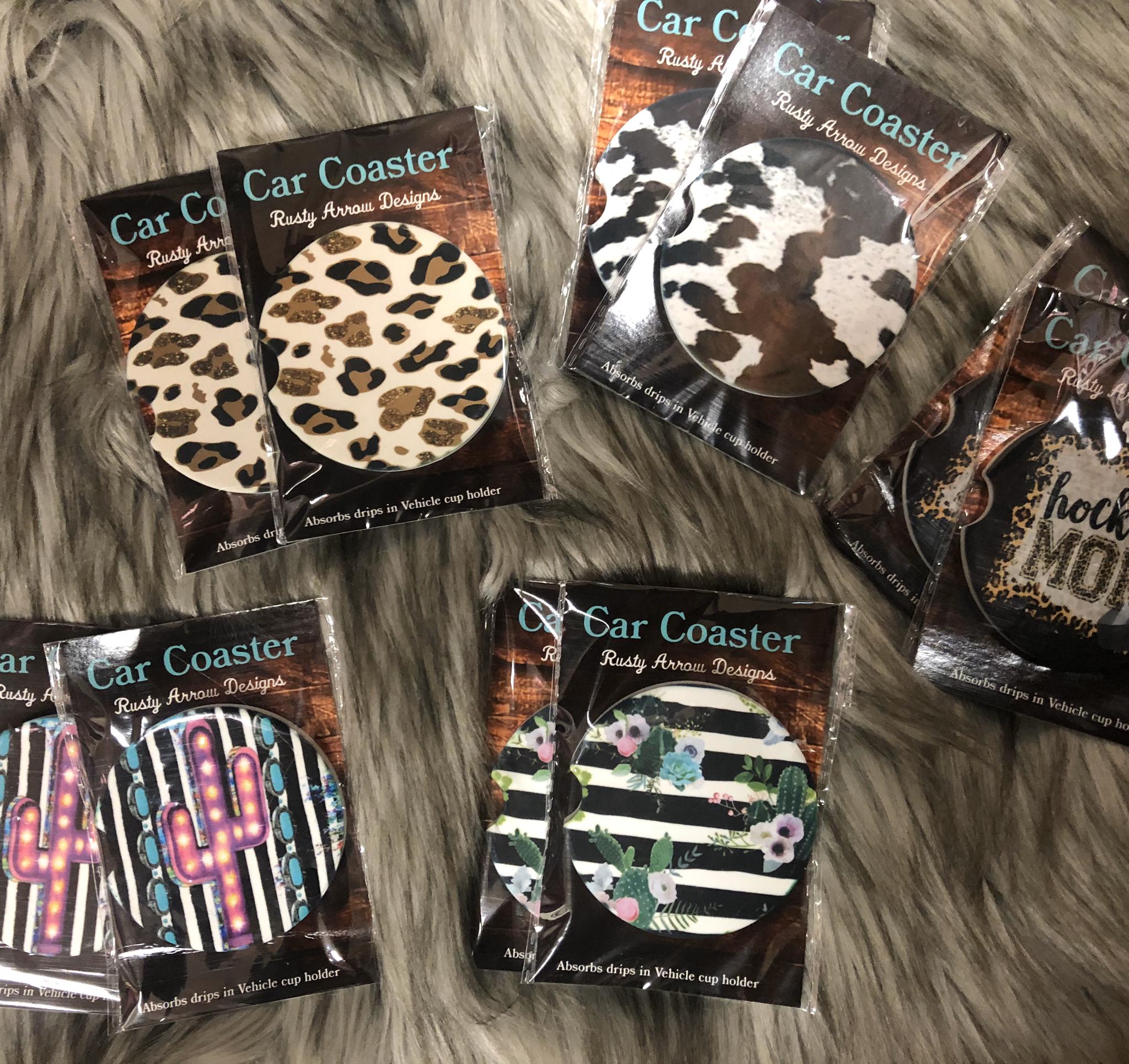 Car Coasters - NEW - Various Styles CC1