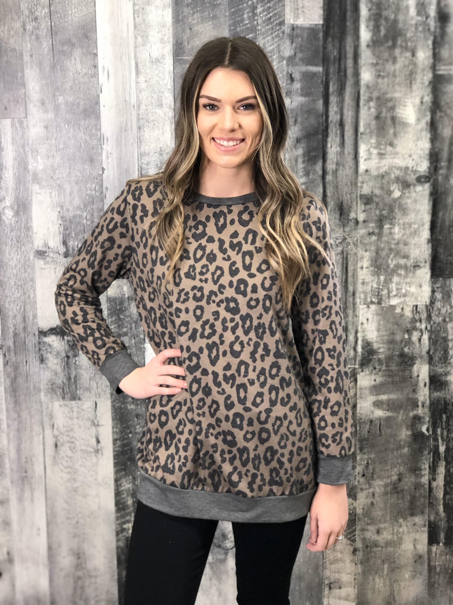 Leopard Sweatshirt 84576
