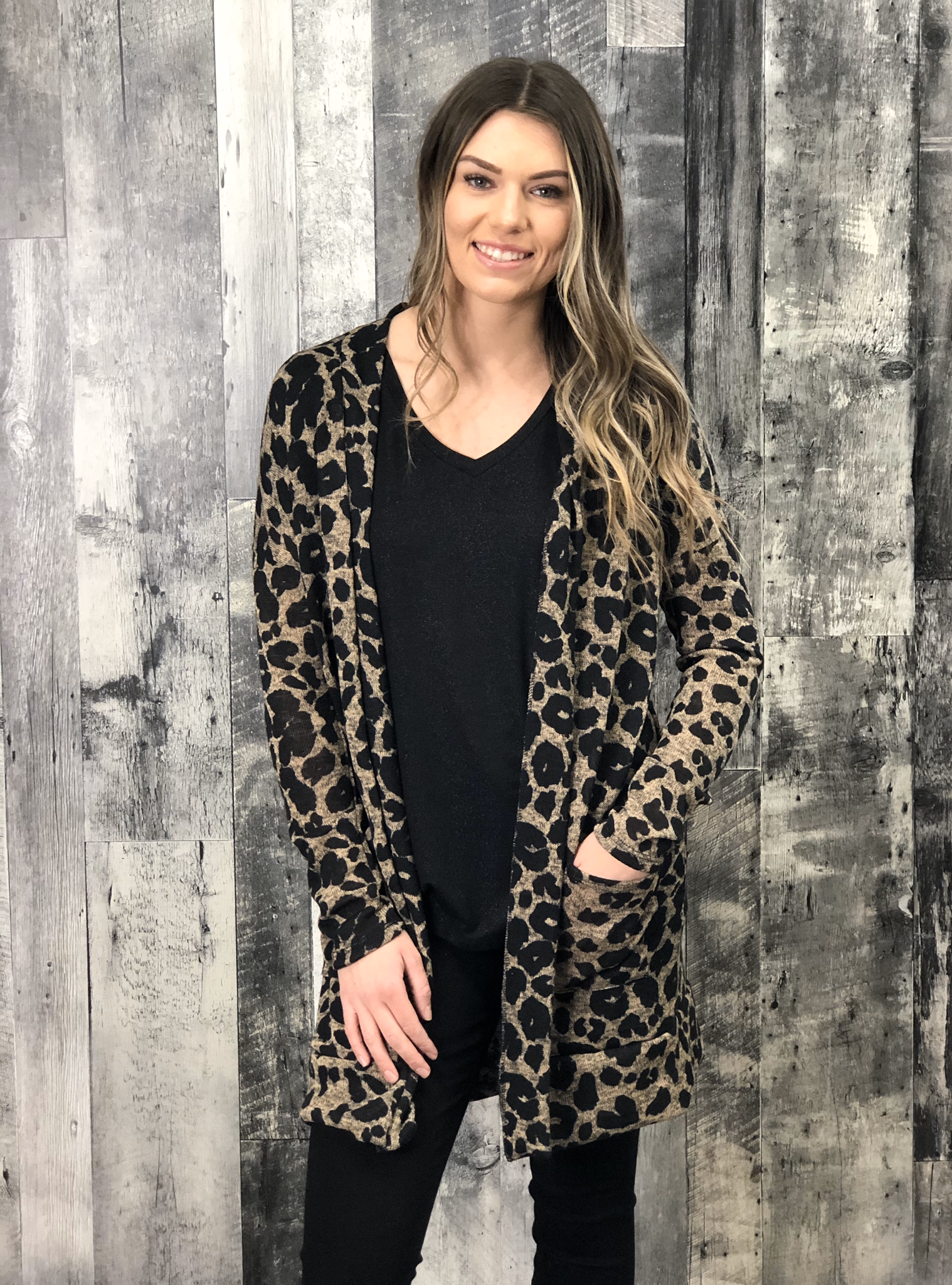 Leopard Cardigan 84595
