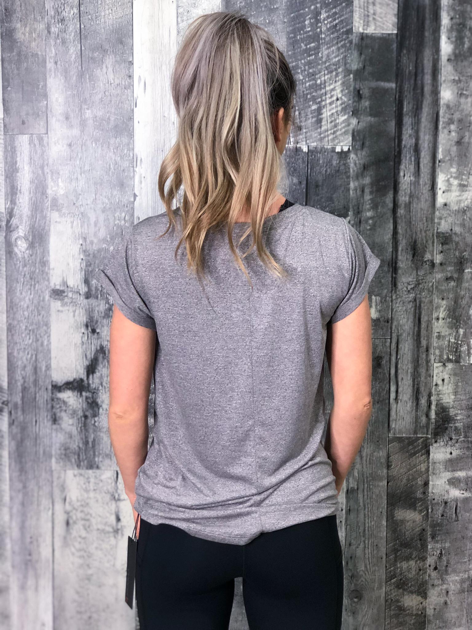 Athletic Tee - Grey