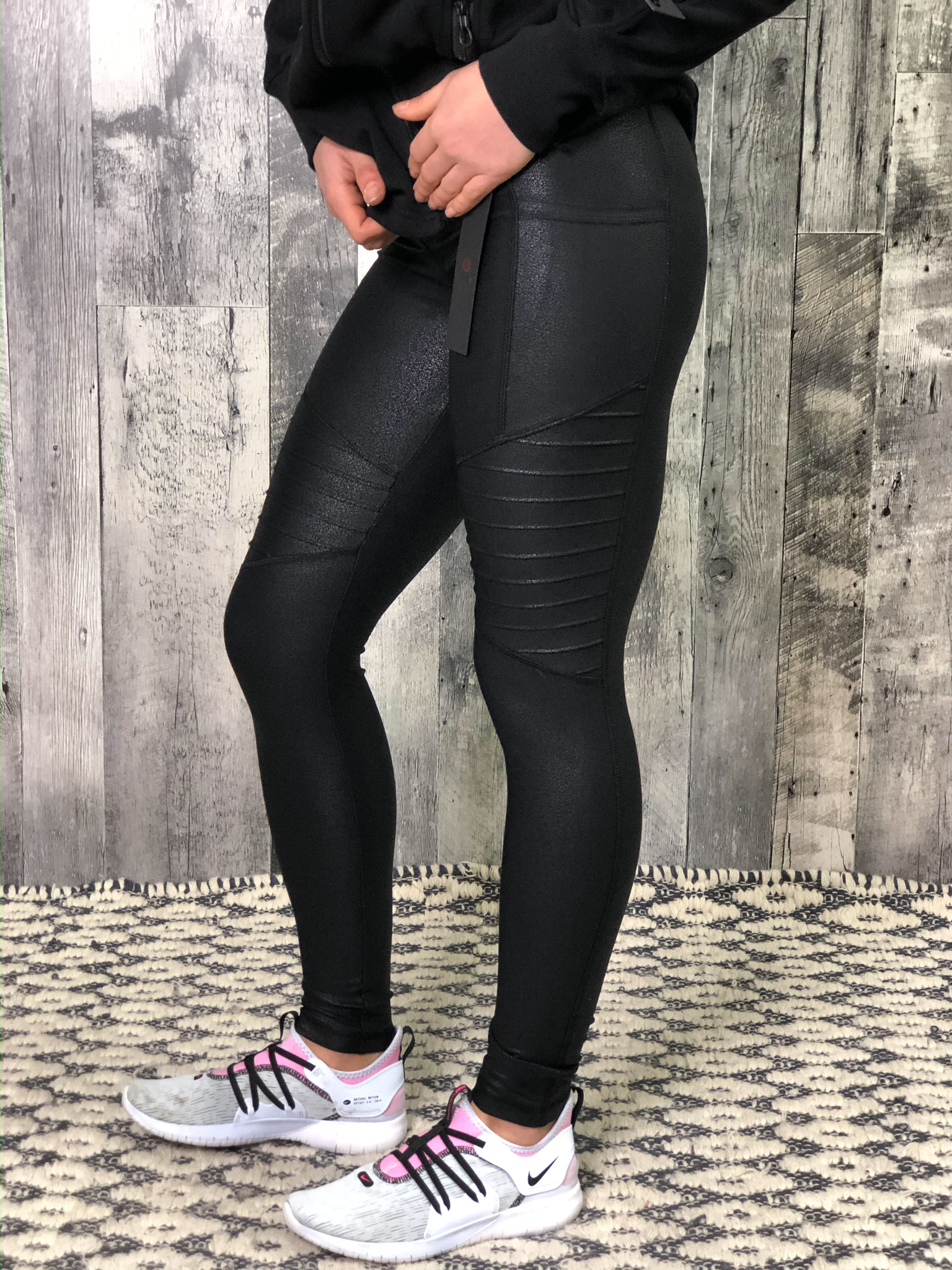 Athletic Legging - Shimmer Motto