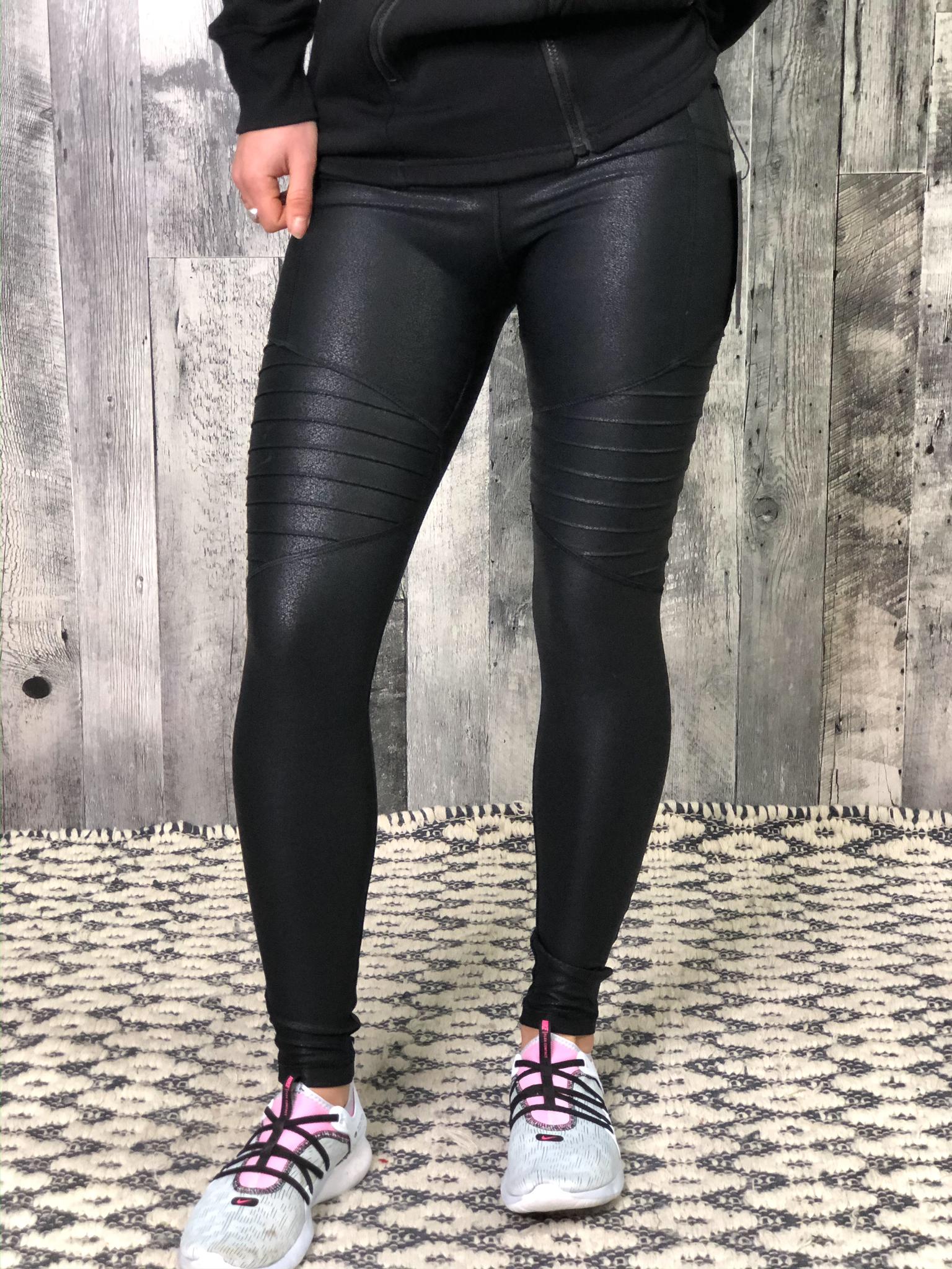 Athletic Legging - Shimmer Motto 84713