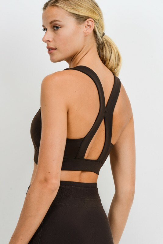 Athletic Bra - Suspended Racer Back 84992
