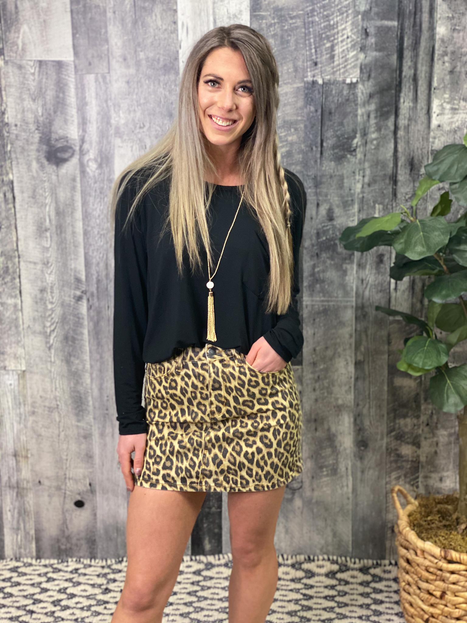 Cheetah Skirt BWJ9