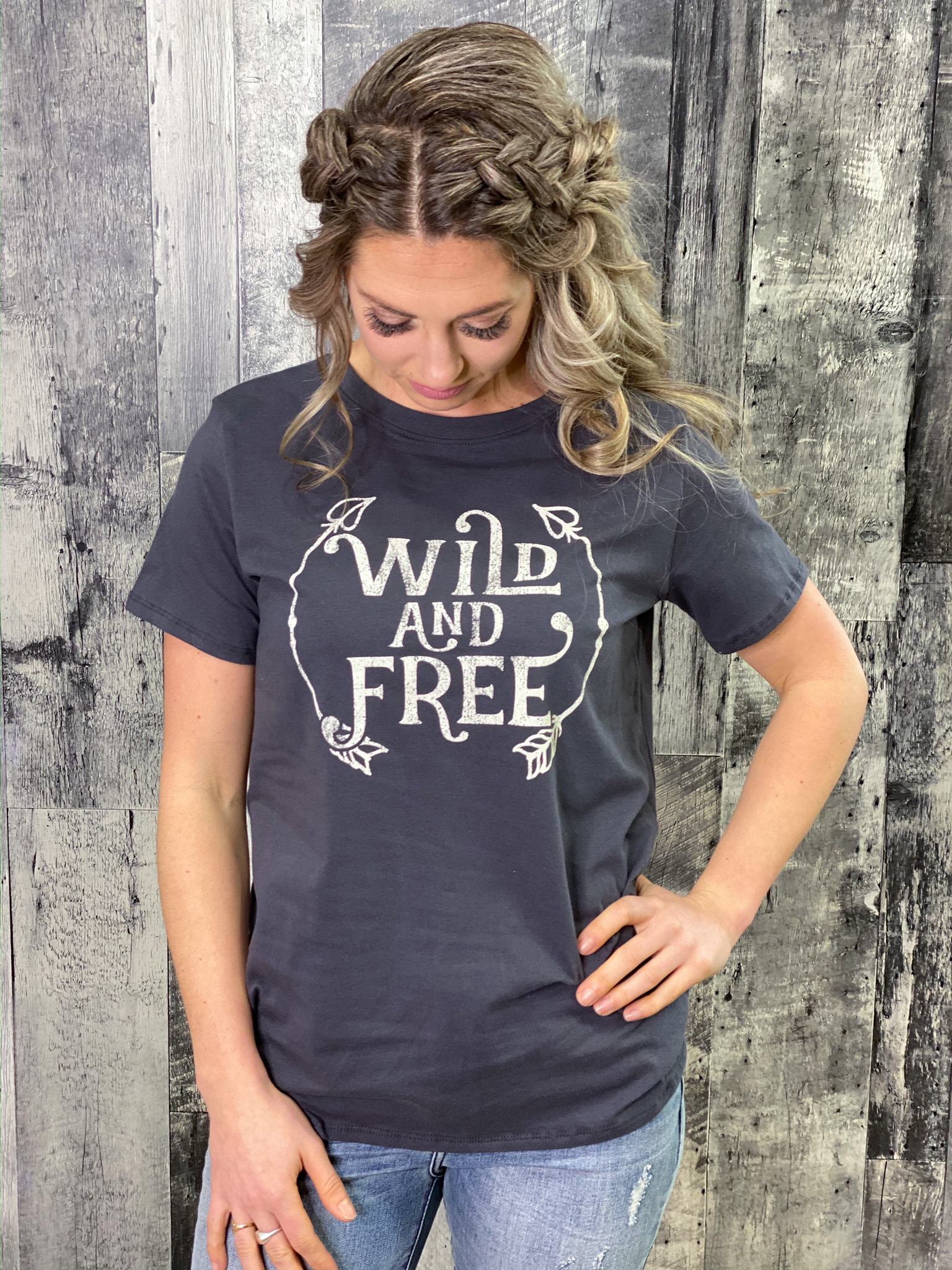 Wild and Free Tee WSW6