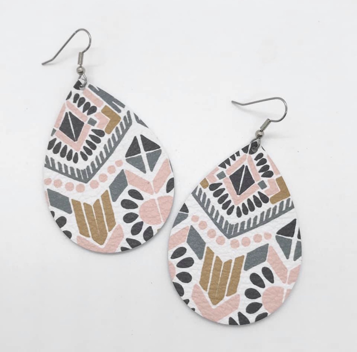 2.5 Inch Teardrop Earrings - Spring Collection (3 Styles) 85029