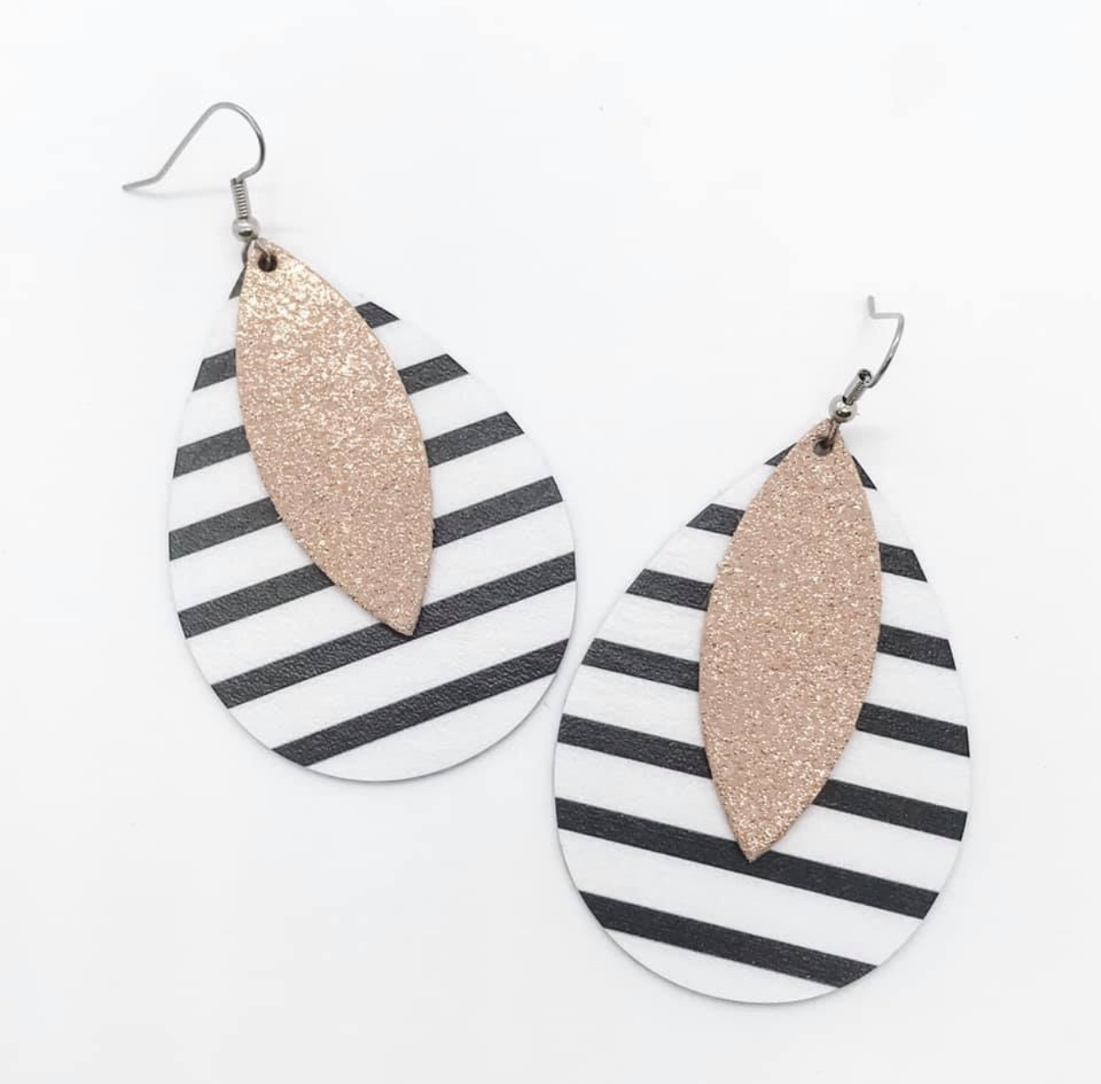 2.5 Inch Teardrop Earrings - Spring Collection (3 Styles)