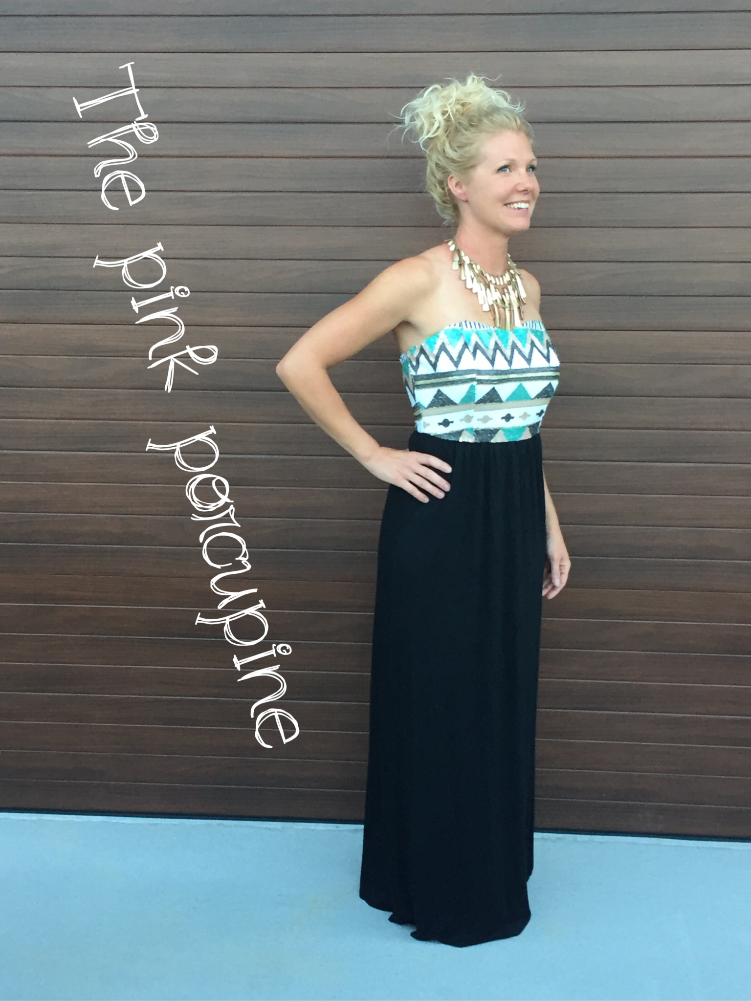 Good to Be Alive Maxi Dress 002533