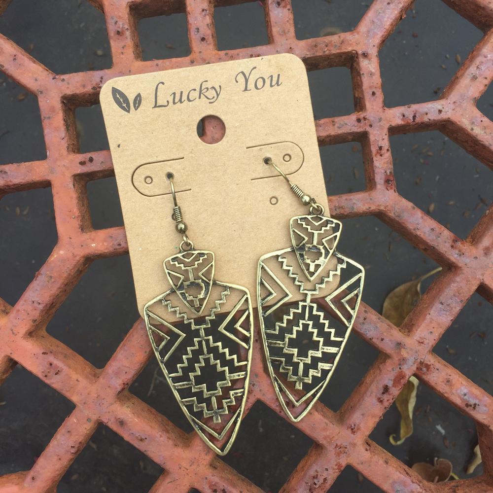 Tribal Earrings 00305