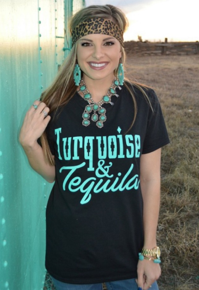 Turquoise and Tequila Tee 98691