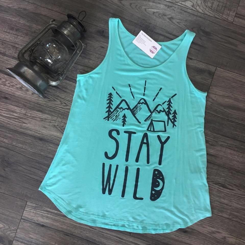 Stay Wild Tank 98996