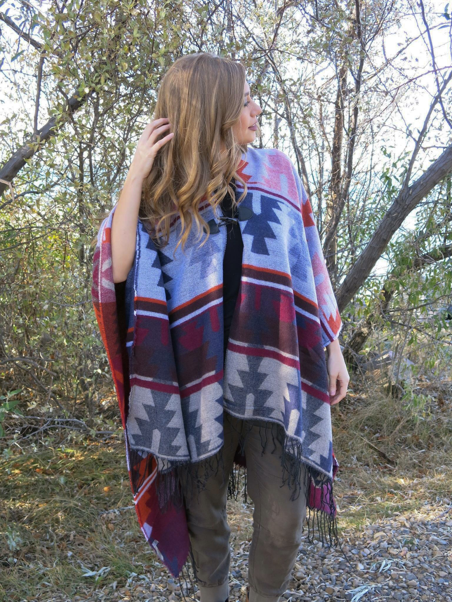The High River Poncho 99243