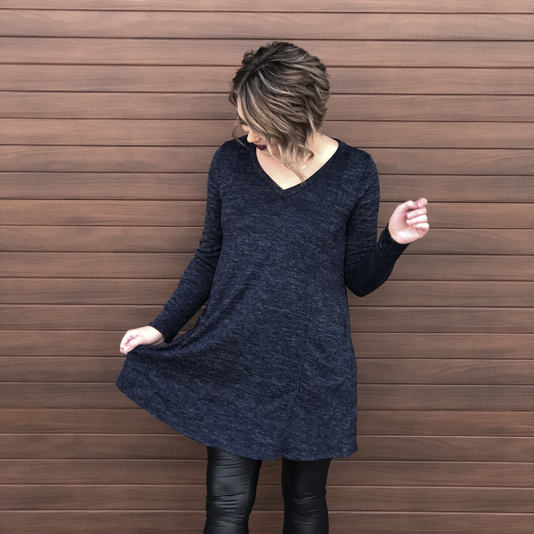 The Oyen Sweater Dress 99549