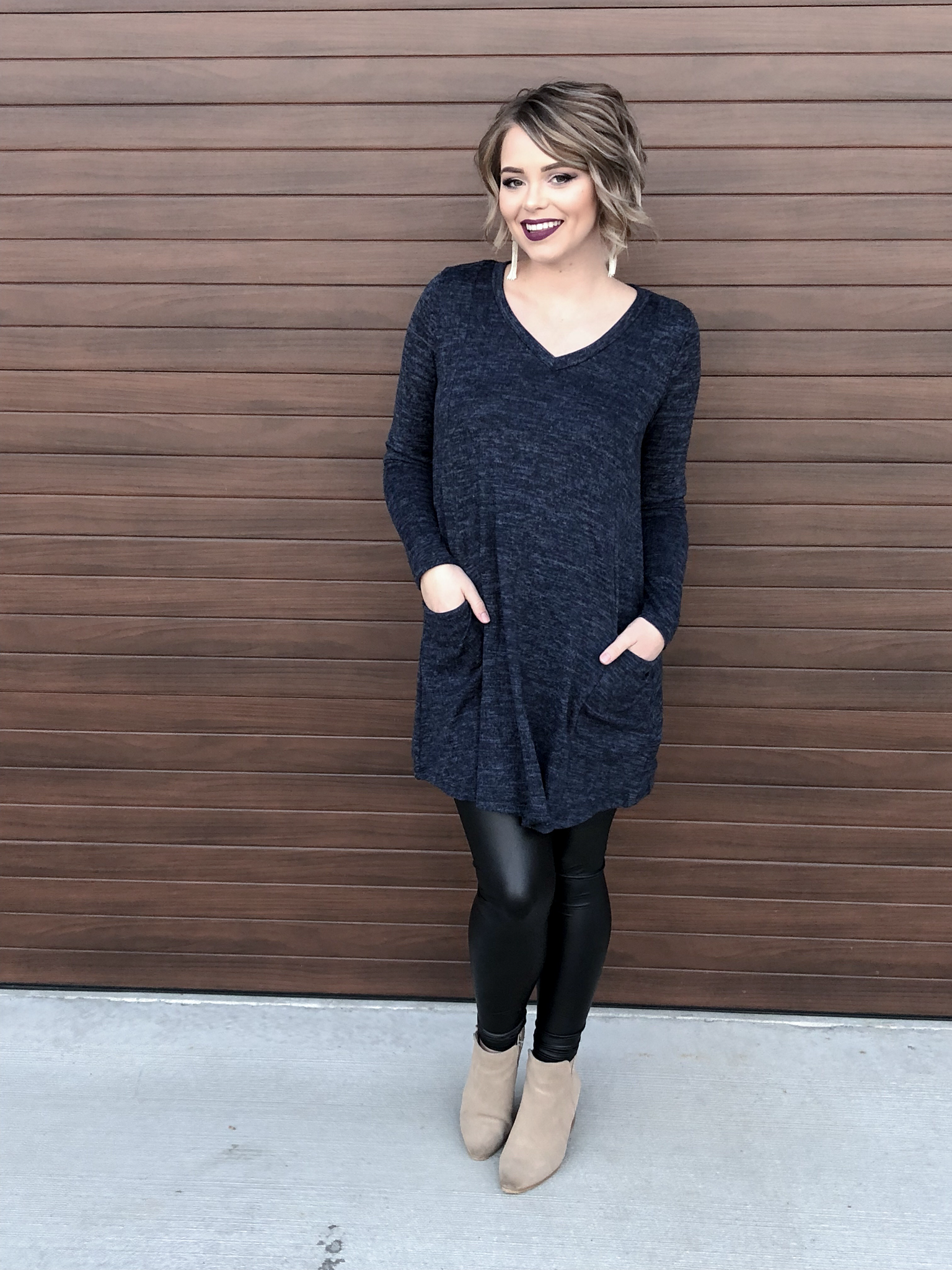 The Oyen Sweater Dress