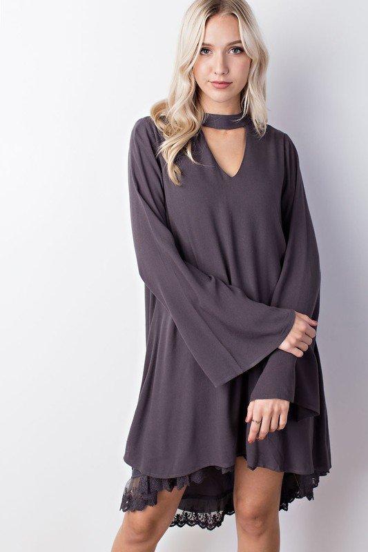 The Titanium Lace Dress 99585