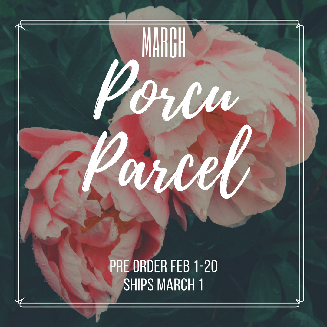The Porcuparcel Style Box - March - PRE SALE NO LONGER AVAILABLE 99832