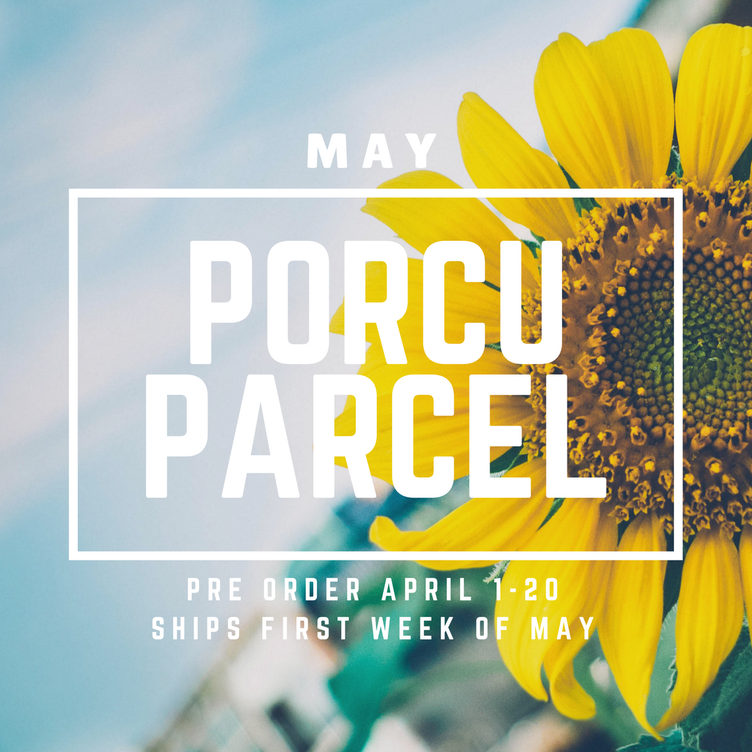 The Porcuparcel Style Box - May - PRE SALE NO LONGER AVAILABLE 9987292