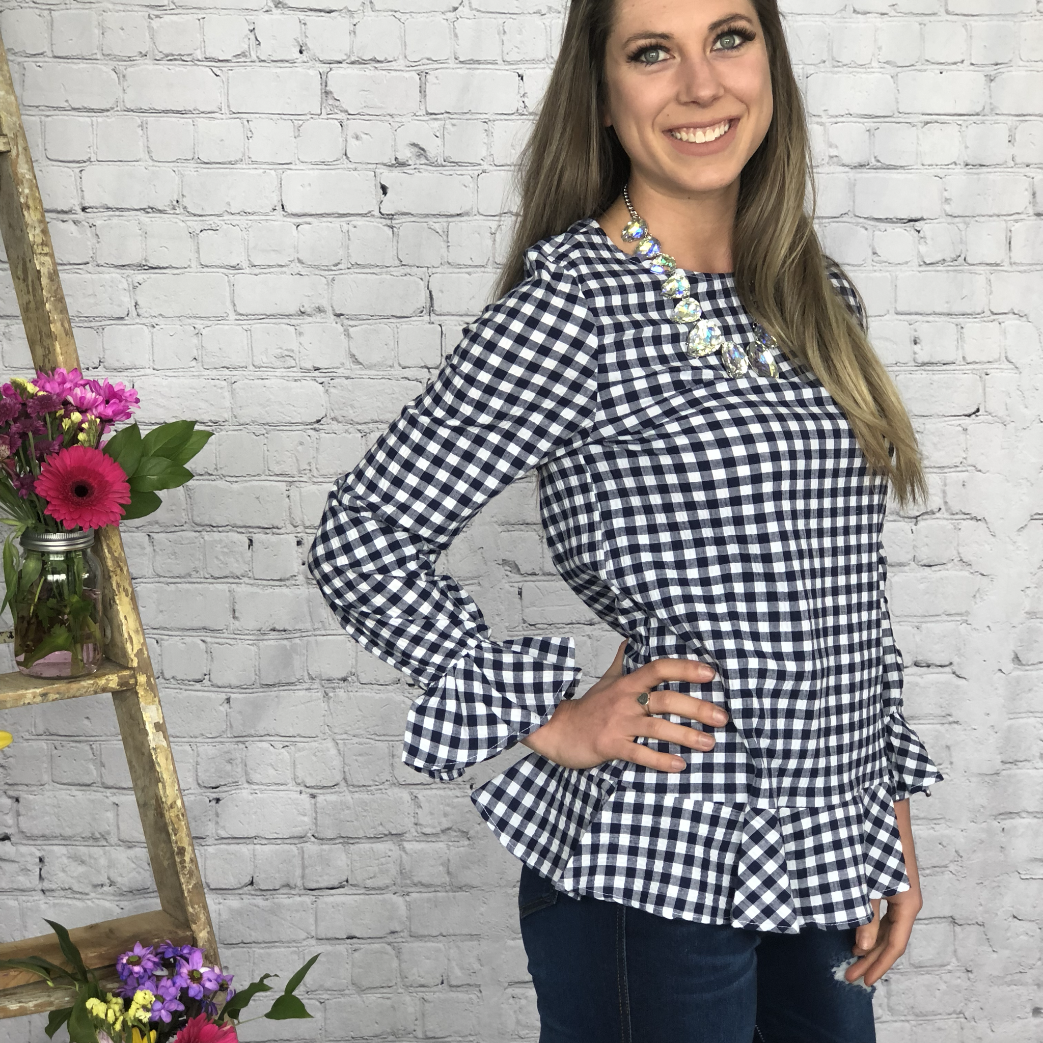 The Gingham Top 9987272