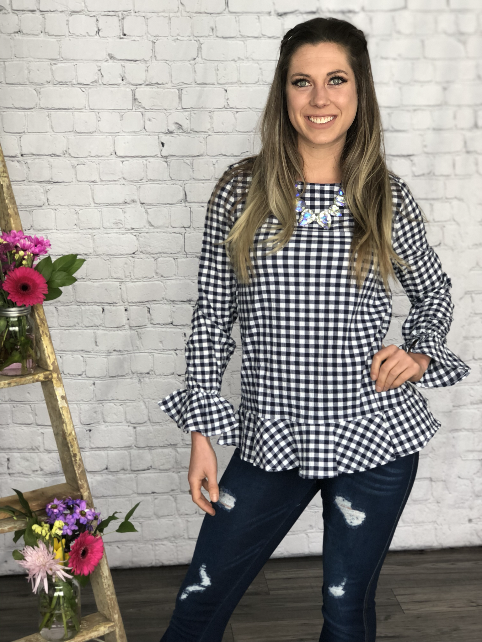 The Gingham Top