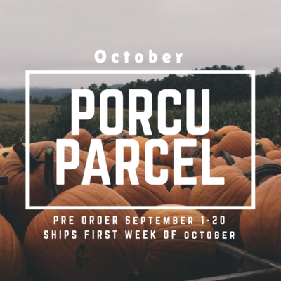 The Porcuparcel Style Box - October - Purchase NOW!!