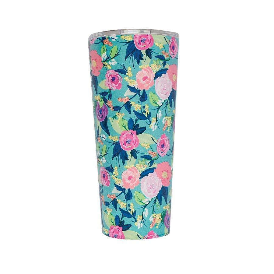 Floral Coffee Tumbler