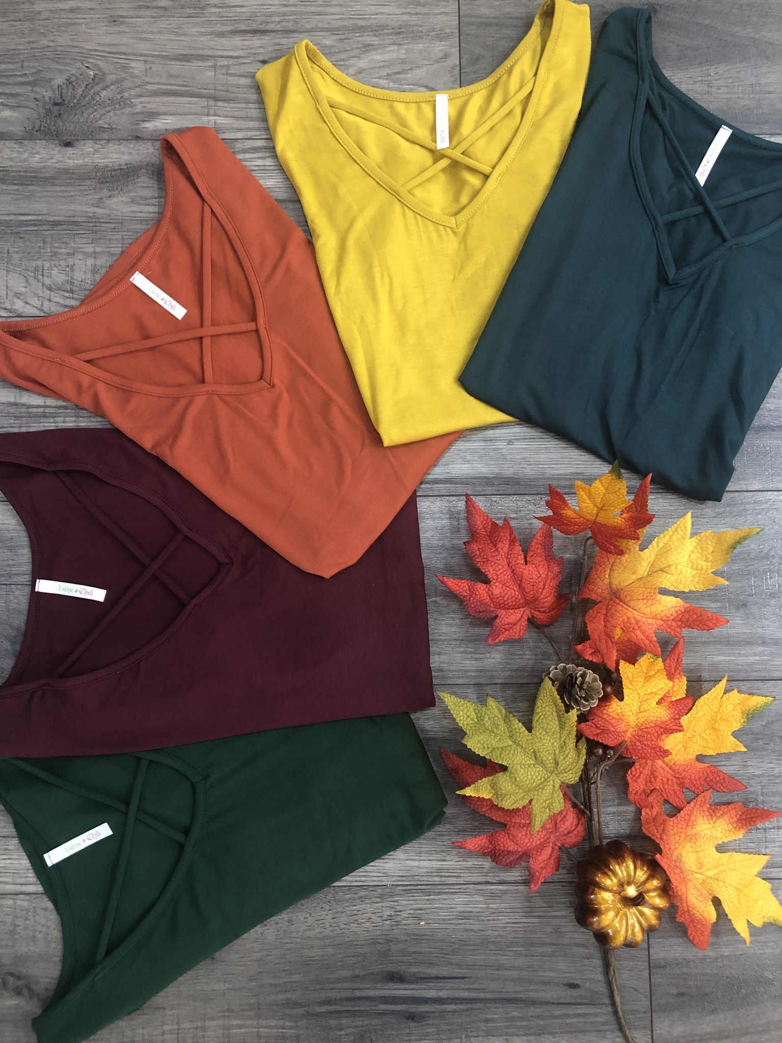 The Waterton Tee - 5 FALL COLORS 9999769