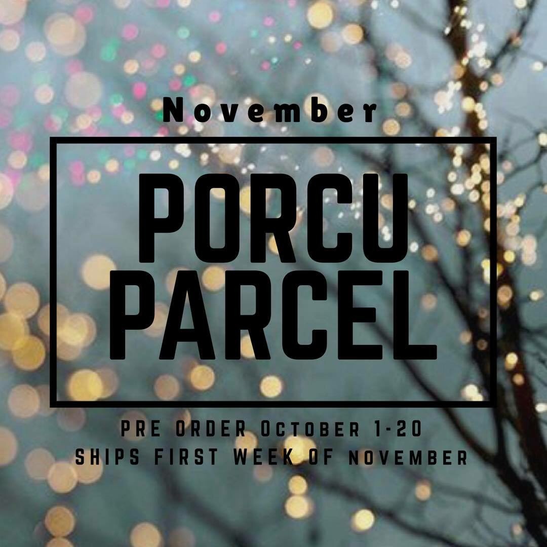 The Porcuparcel Style Box - November - PRE SALE OVER 9999928