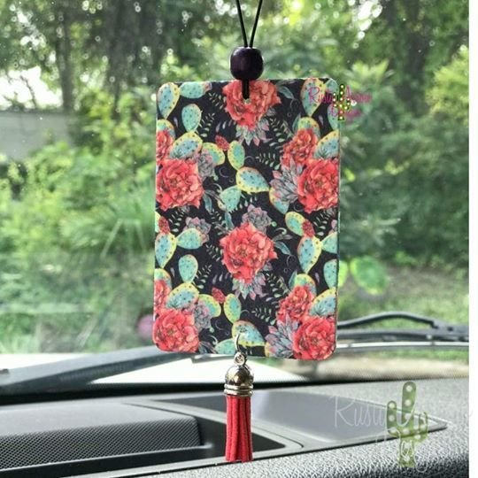 Scented Car Air Freshener -various prints, scents and styles 999999782
