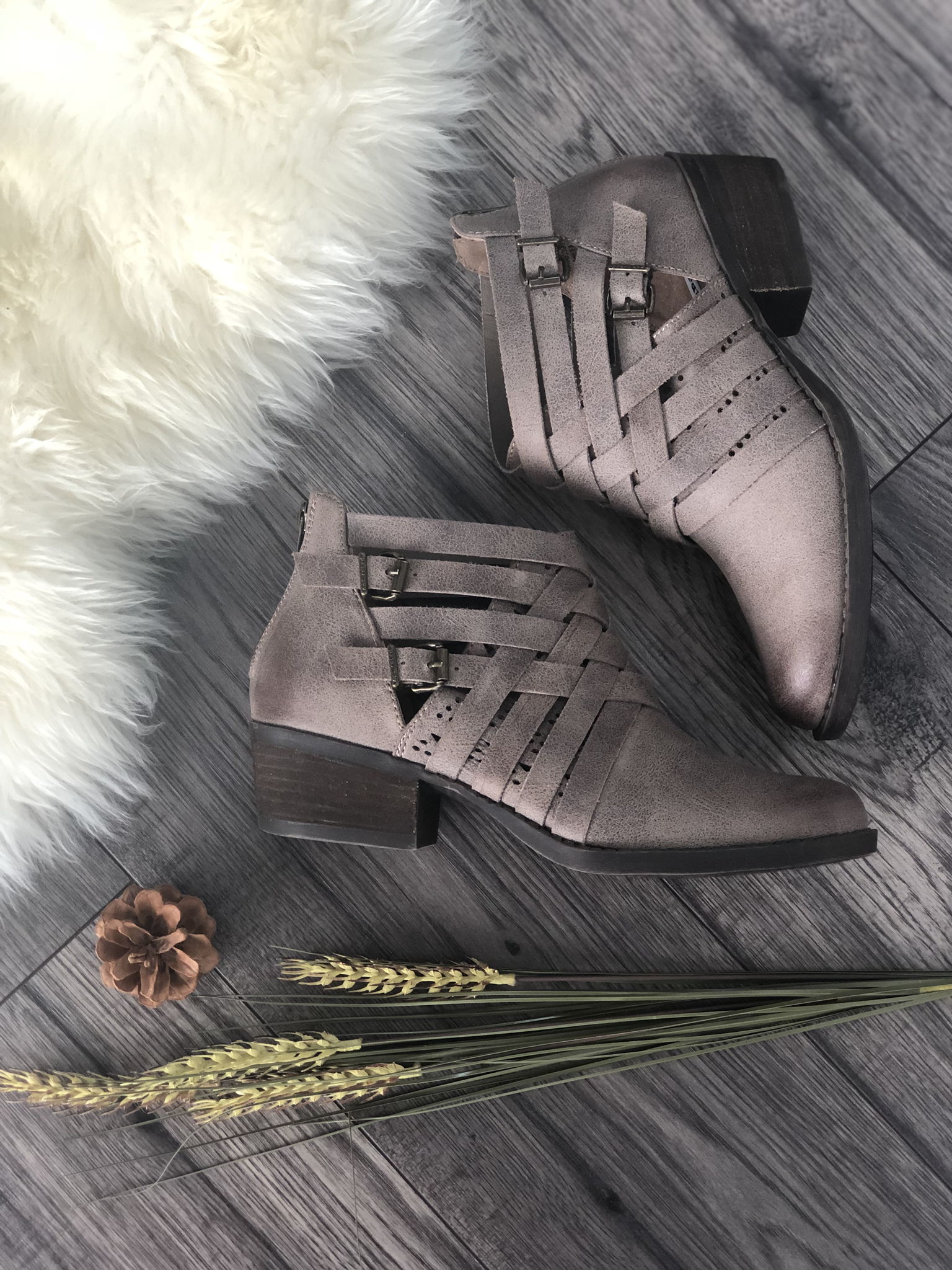 Strappy Bootie - 1 Size 6 Left 99999896
