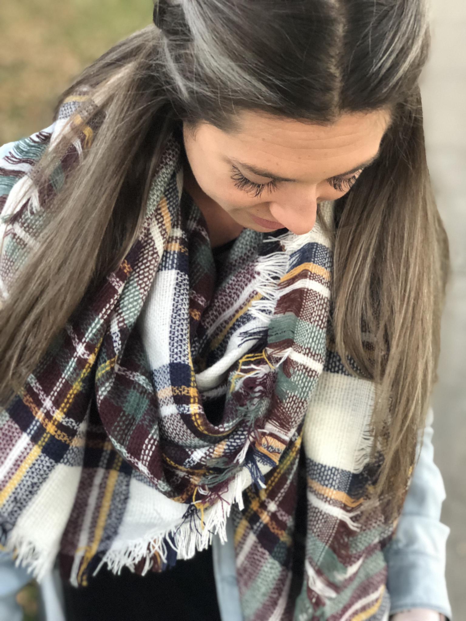 Blanket Scarves -Various Colors - RESTOCK1