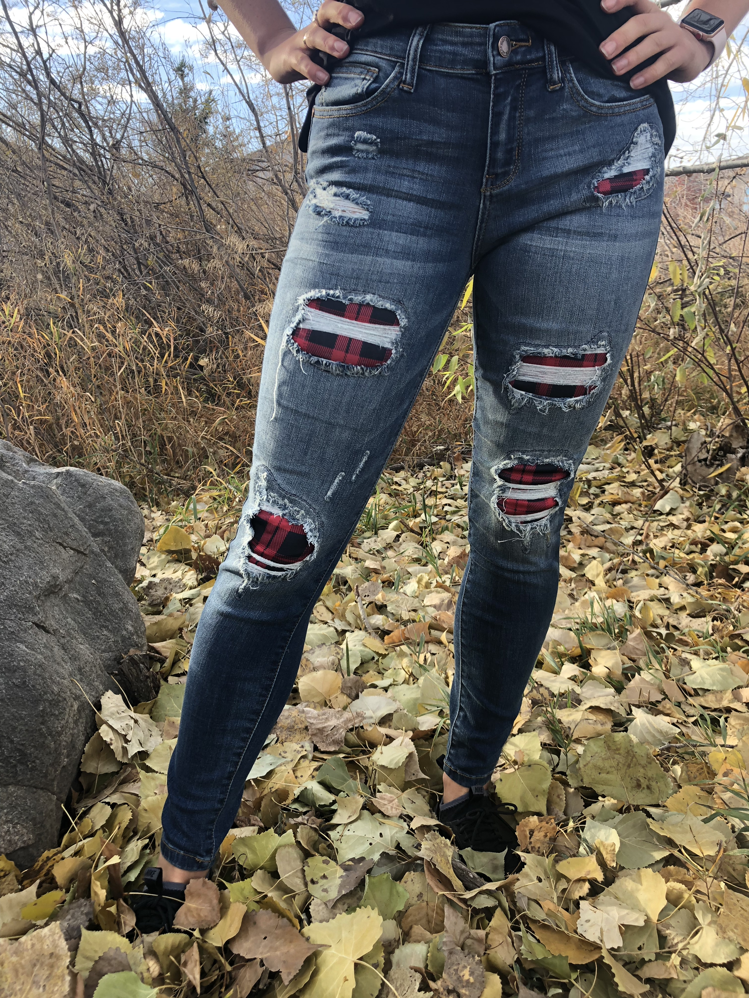 Buffalo Plaid  Skinny Jean 99999971