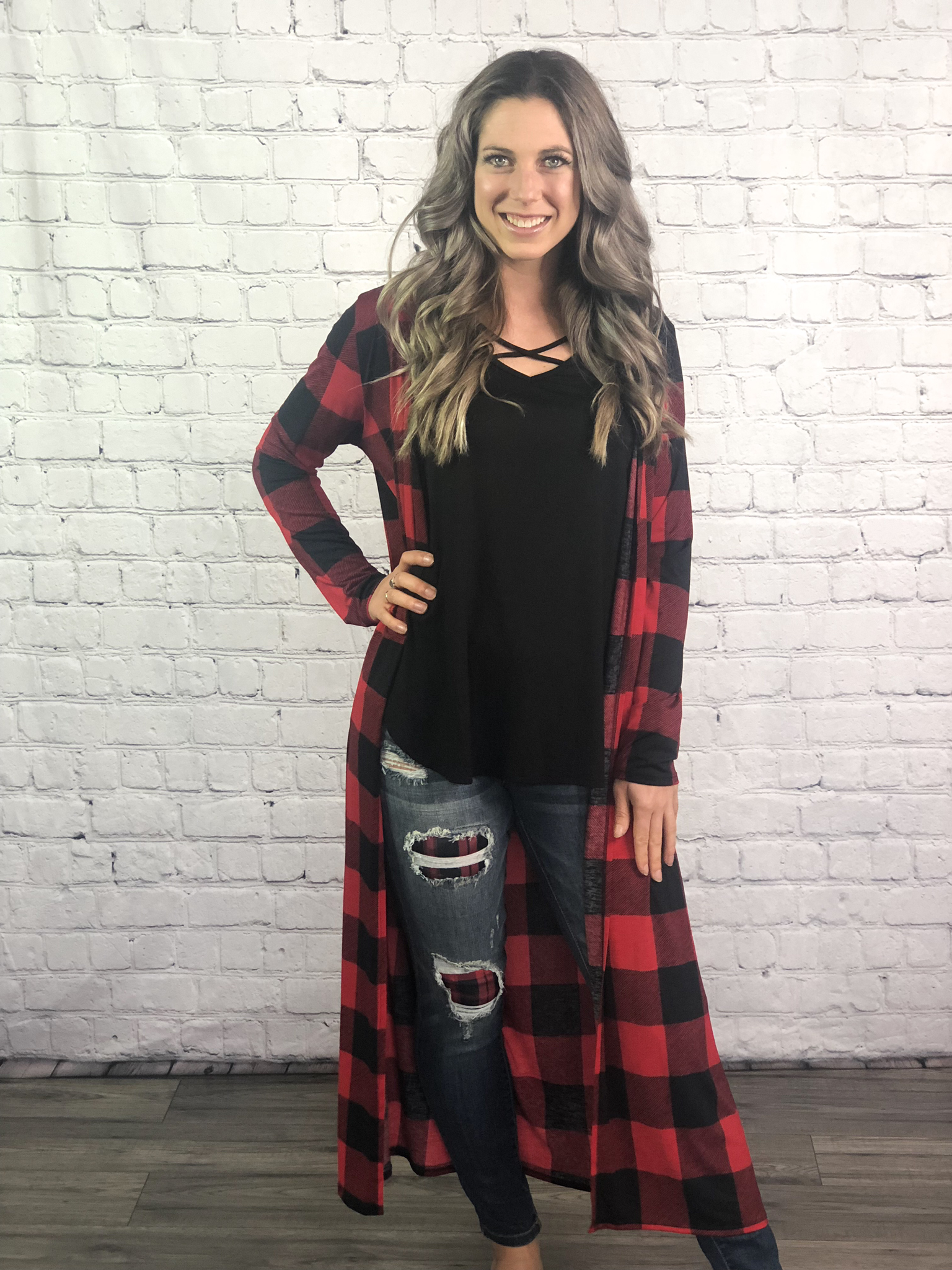 The Buffalo Plaid Duster 999999684