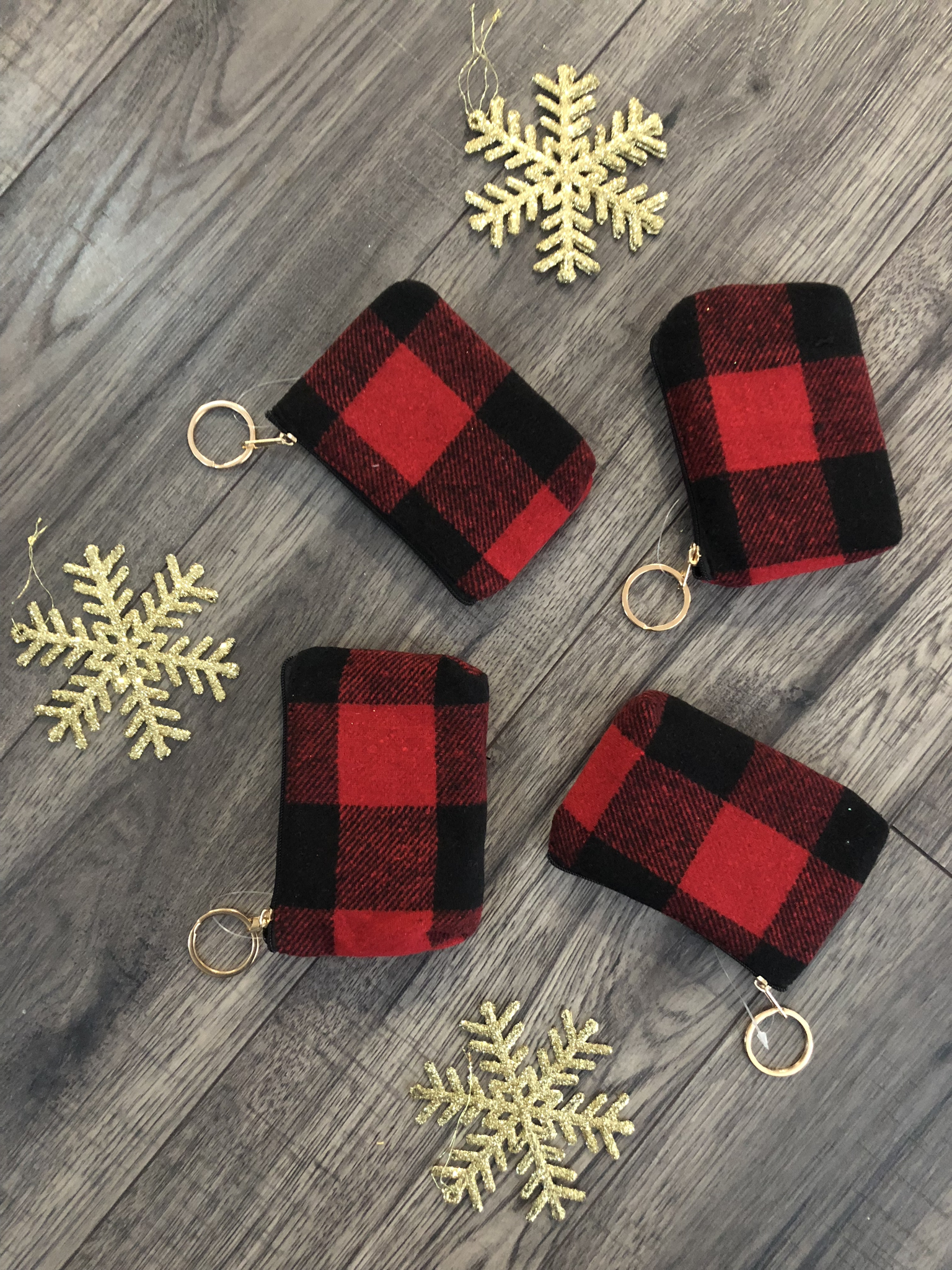 Buffalo Plaid Coupon Code Pouch 999999790