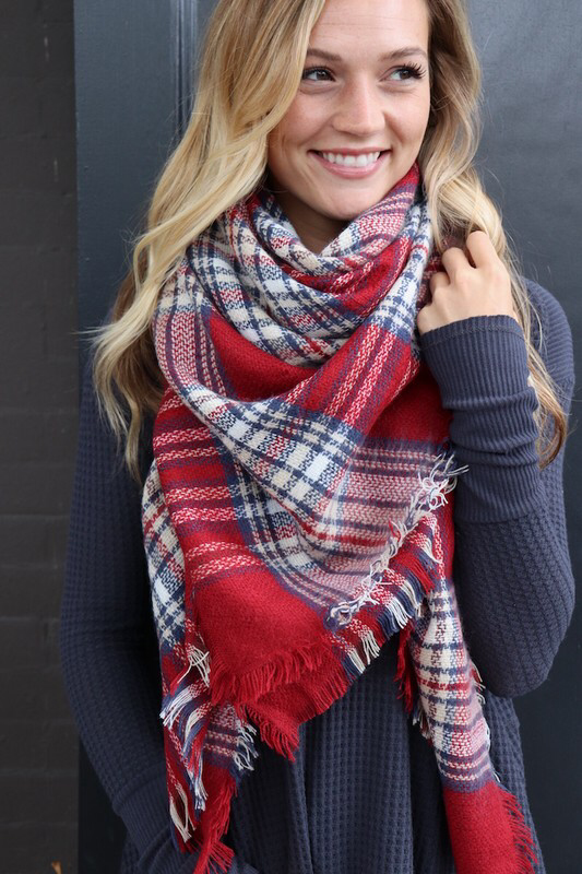 Blanket Scarves -New Colors 88203