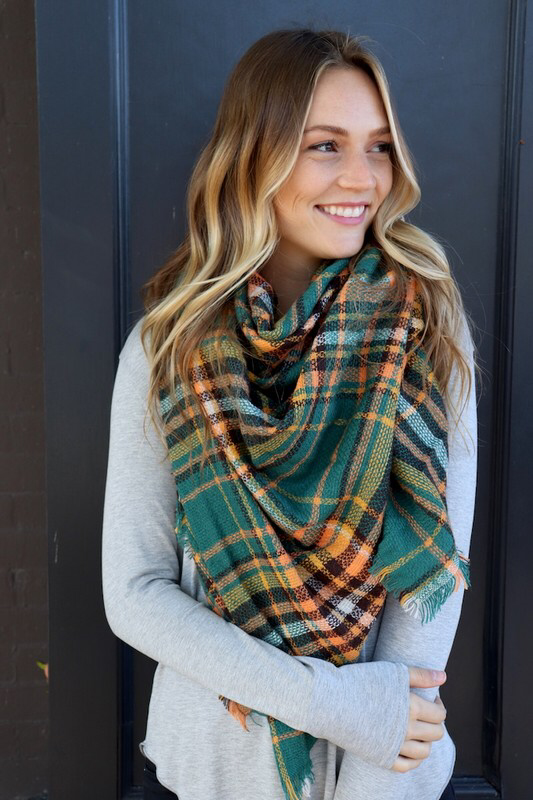 Blanket Scarves -New Colors