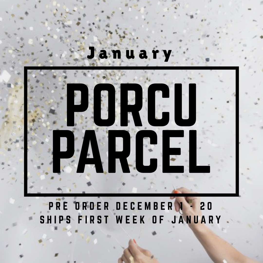 The Porcuparcel Style Box - January - PRE ORDER NO LONGER AVAILABLE 9999999816