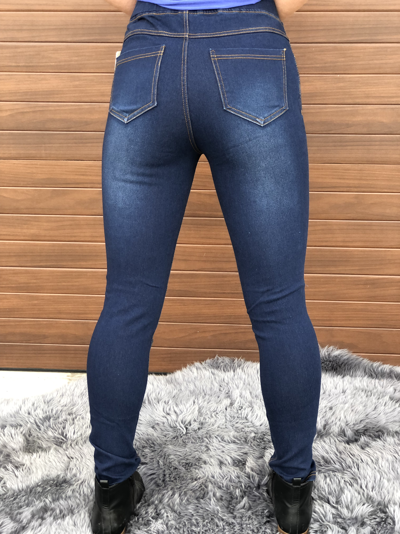 Crazy In Comfort Jeggings - 3981