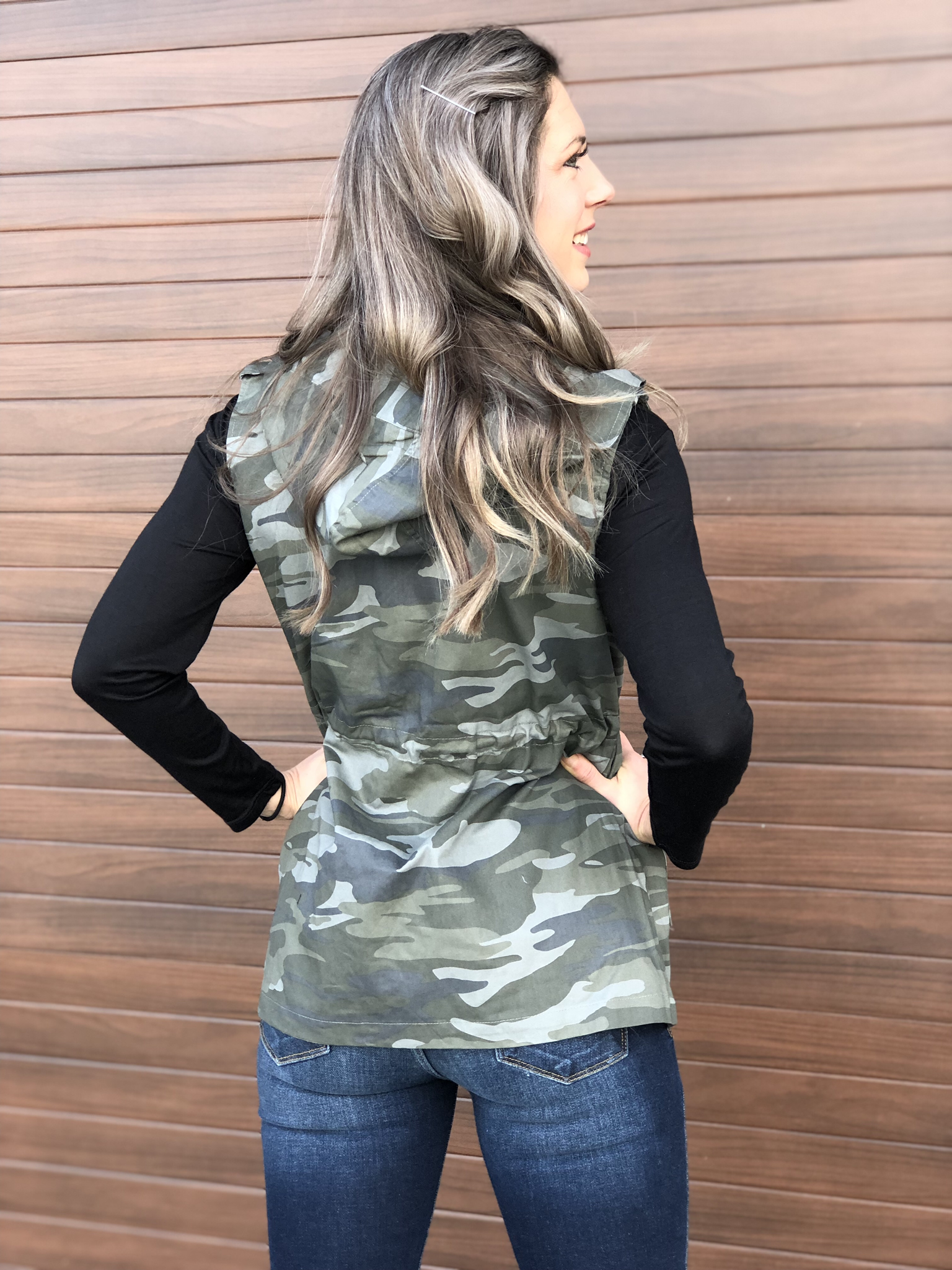 The Bentley Vest- Light Camo