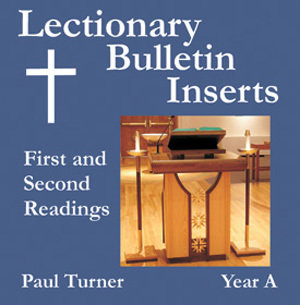 Lectionary Bulletin Inserts, Year A: First and Second Readings