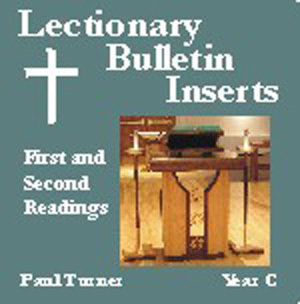 Lectionary Bulletin Inserts, Year C: First and Second Readings